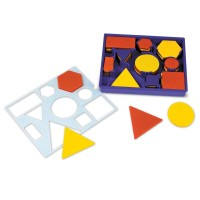 Set de sortat Forme geometrice Learning Resources, 60 piese, 5 - 10 ani