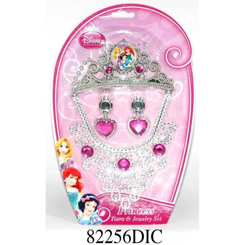 Set diadema si bijuterii Disney 3 New Princess, 4 piese 2021 shopu.ro