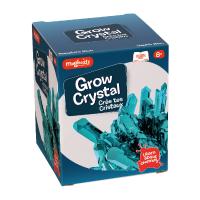 Set de joaca experimente Creeaza Cristale Magnoidz Keycraft, 8 ani+, Albastru