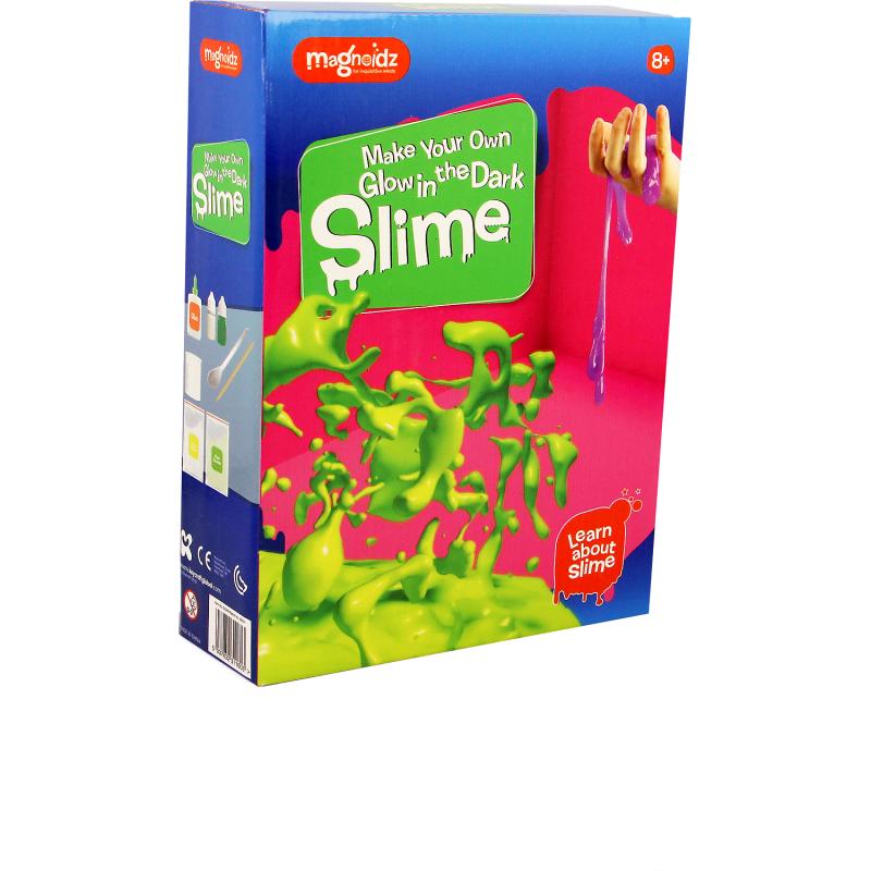 Set experimente Slime fosforescent Magnoidz Keycraft, 8 ani+ 2021 shopu.ro