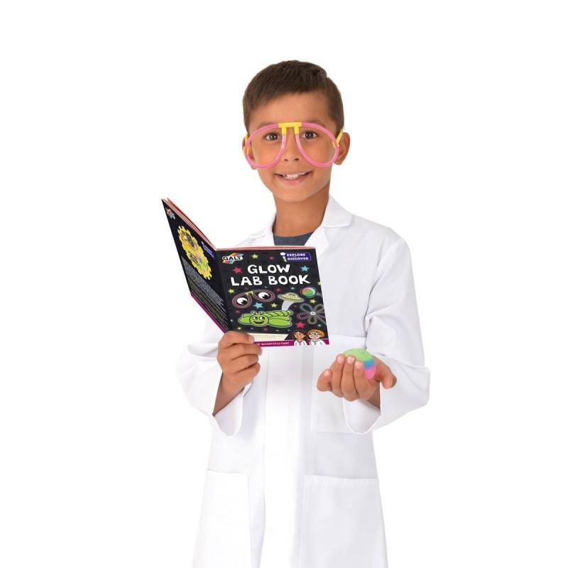 Set 11 experimente pentru copii Galt Glow lab, descopera relatia cauza-efect