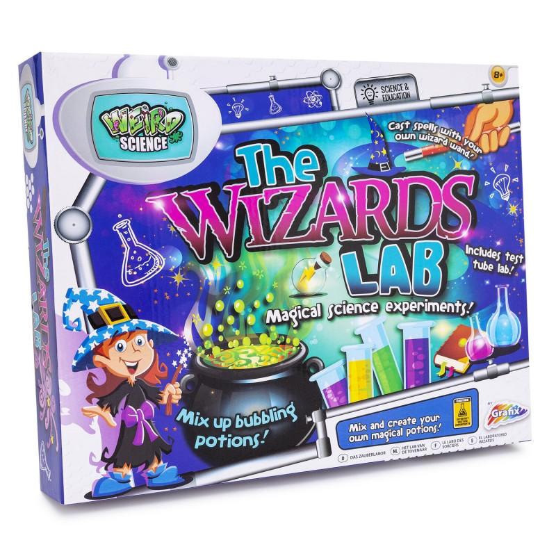 Set experimente Laboratorul magicianului Grafix, 8 ani+