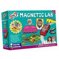 Set 10 experimente pentru copii Galt Magnetic Lab, 6-11 ani