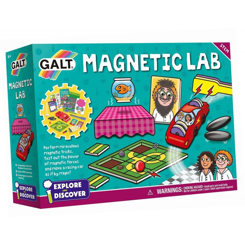 Set 10 experimente pentru copii Galt Magnetic Lab, 6-11 ani 2021 shopu.ro