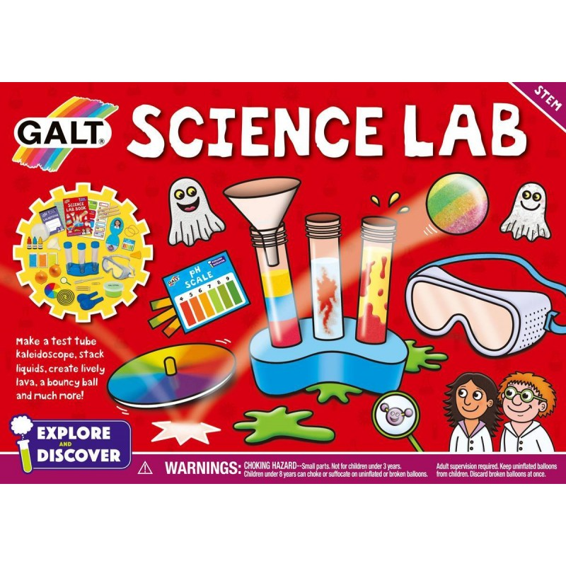 Set 20 experimente Science Lab, 6 ani+