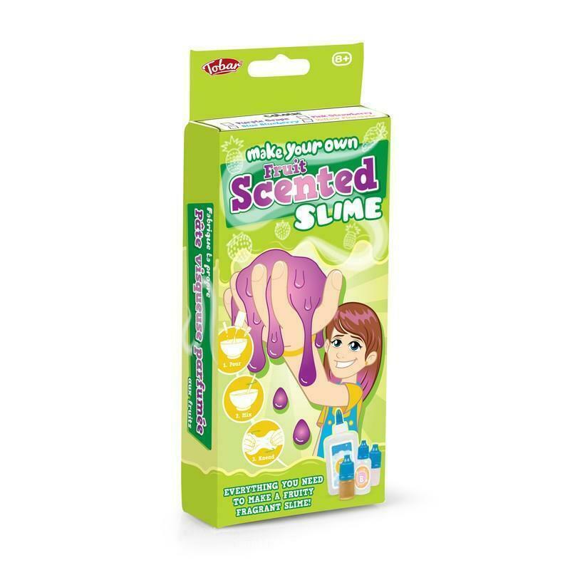 Set experimente Slime cu aroma de fructe Tobar, 8 ani+ 2021 shopu.ro