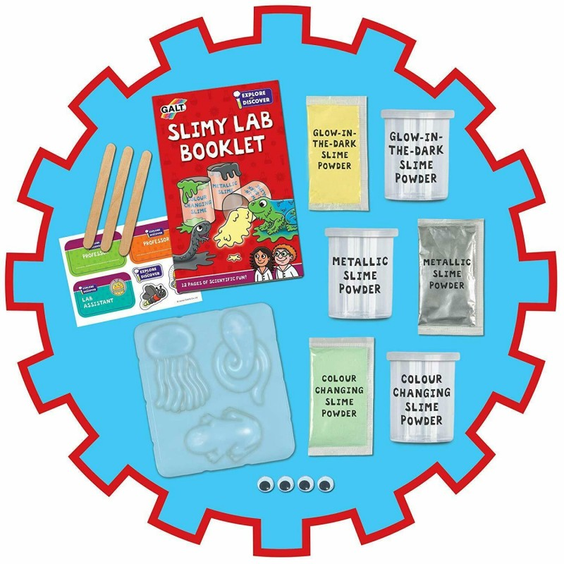 Set 4 experimente Slimy Lab, 5 ani+ 2021 shopu.ro