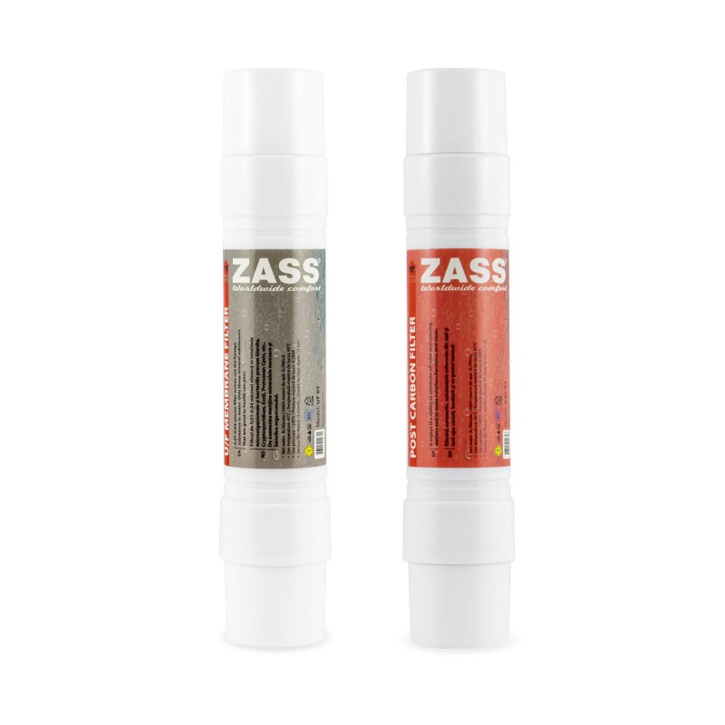Set filtre dozator Zass Membrana si Post-Carbon, 2 bucati 2021 shopu.ro