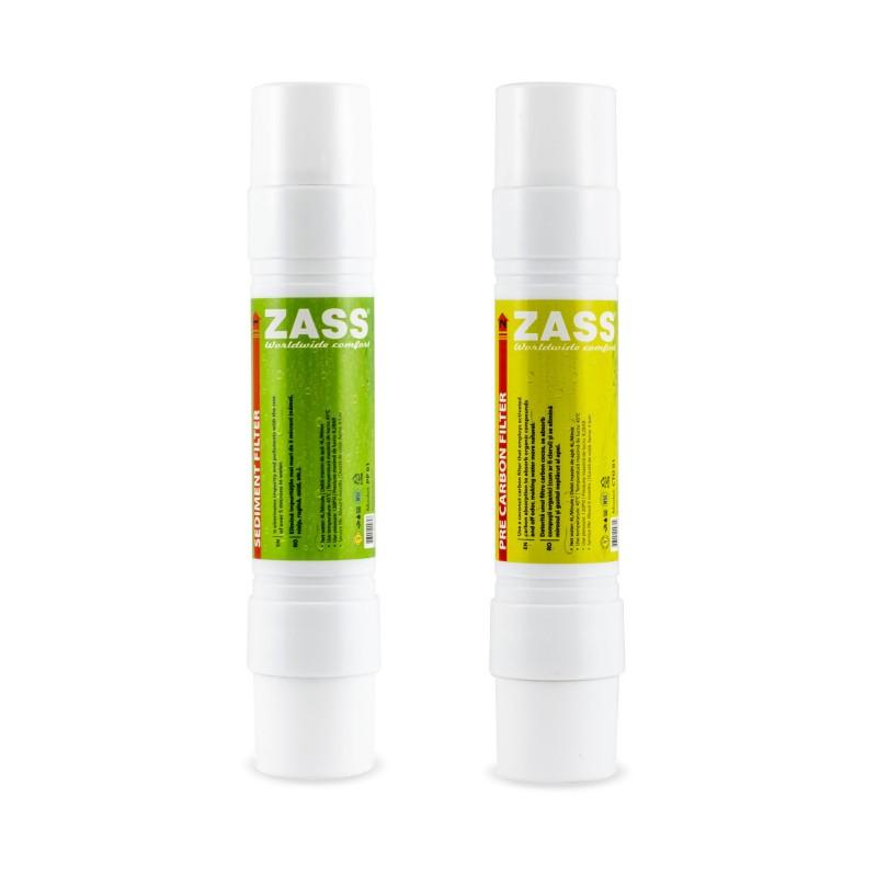 Set filtre dozator Zass Sediment si Precarbon, 2 bucati 2021 shopu.ro