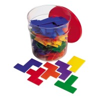 Set forme geometrice Pentomino Learning Resources, 72 piese, 6 - 12 ani