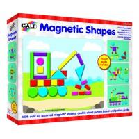 Joc educativ forme magnetice Galt, 25 x 21 cm, 40 piese, 3-6 ani