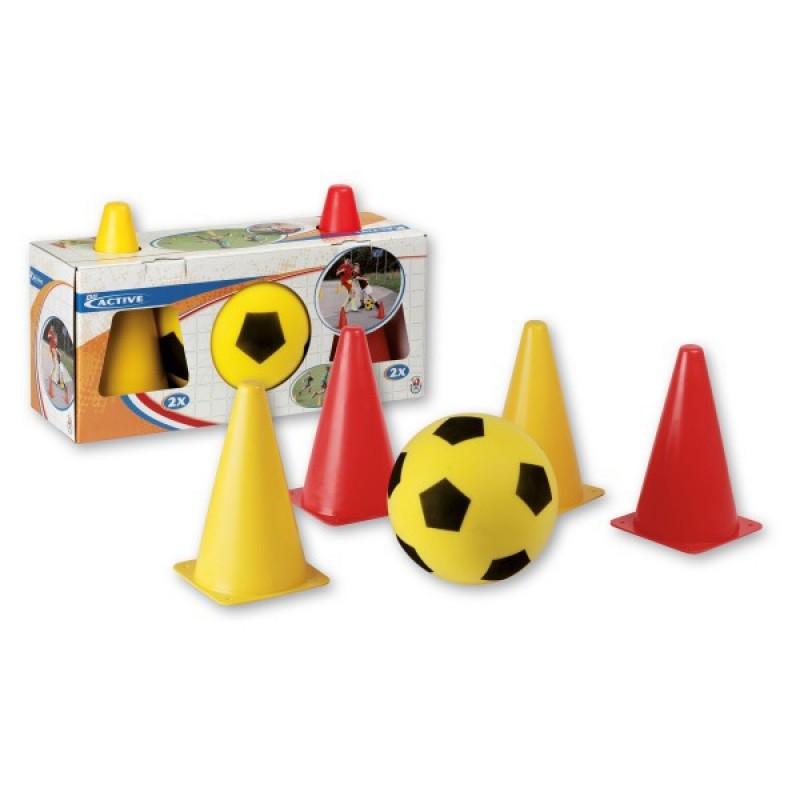 Set fotbal cu jaloane, Androni Giocattoli 2021 shopu.ro