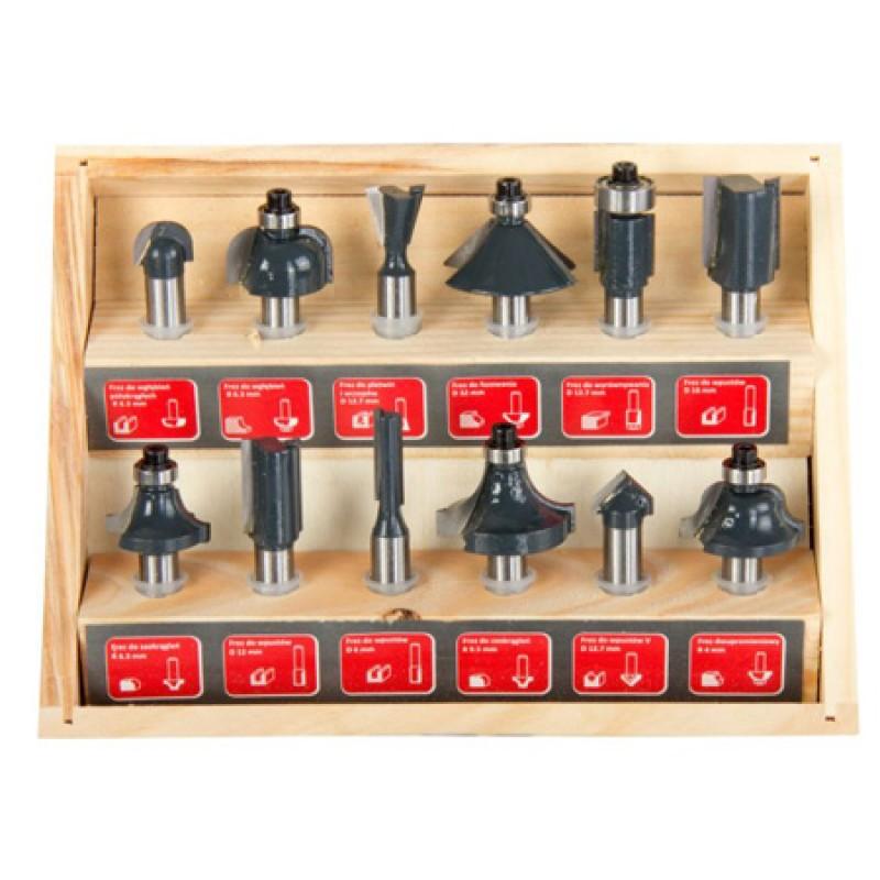 Set freze pentru tamplarie Proline, 6-32 mm, 12 bucati 2021 shopu.ro