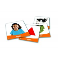 Set imagini vocabularul de baza, 156 carduri, 5 - 9 ani