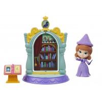 Set joaca biblioteca magica Sofia Intai Curs, 8 cm, 3 ani+