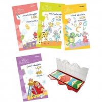 Set joc educativ Luk Exercitii interdisciplinare anotimpuri Editura Kreativ, 12 jetoane, 5-8 ani