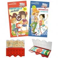 Set joc educativ Luk Matematica/limba romana Editura Kreativ, 12 jetoane, 7 ani+