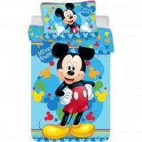 Set lenjerie Mickey Child SunCity, 100 x 135 cm, bumbac, 2 piese, Multicolor