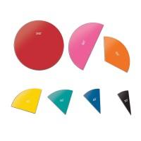 Set magnetic Descopera unghiurile cercului Hand2Mind, 36 de segmente colorate, 8 ani+