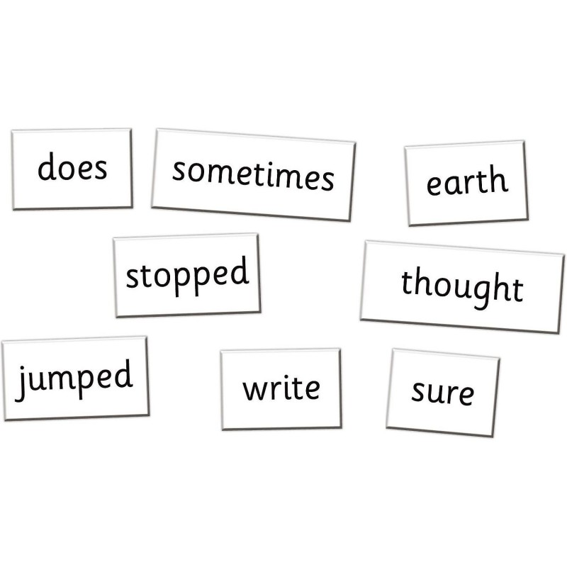 Set magnetic Primele cuvinte in limba Engleza Fiesta Crafts, clasa 3, 4 si 5, 115 piese, 18 x 25.5 cm, 7 ani+