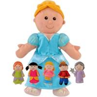 Set 6 Marionete Cenusareasa Fiesta Crafts, 3 ani+