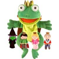 Set 5 Marionete Printul Broscoi Fiesta Crafts, 3 ani+