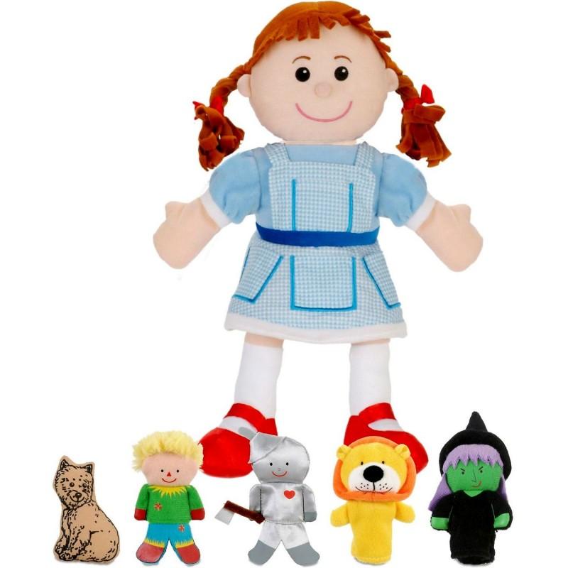 Set 6 Marionete Vrajitorul din Oz Fiesta Crafts, 3 ani+