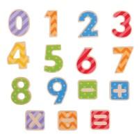 Set numere magnetice BigJigs, 3 ani+