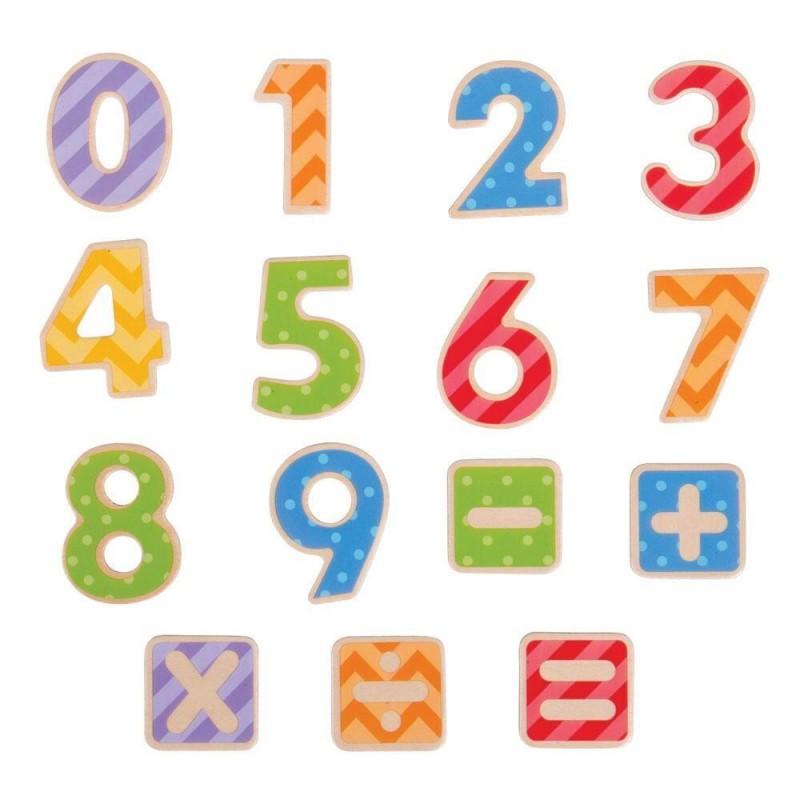 Set numere magnetice BigJigs, 3 ani+ 2021 shopu.ro