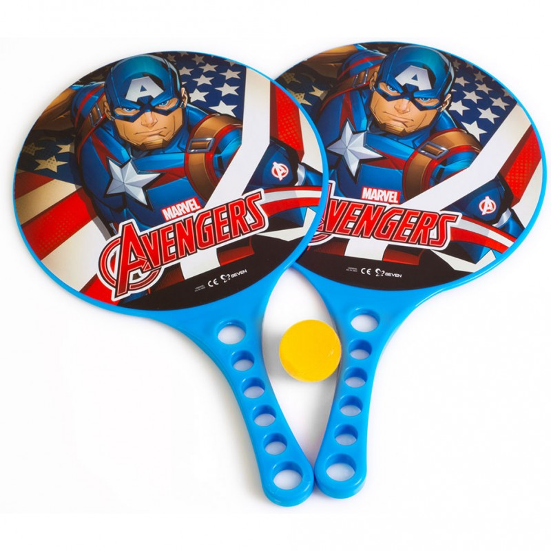 Set palete tenis de masa Captain America Seven, minge inclusa 2021 shopu.ro