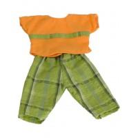 Set pantaloni si bluza papusi Miniland, 40-42 cm