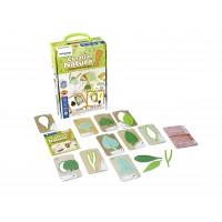 Set pentru creatie Natura Miniland, 8 x 14 cm, 10 carduri incluse