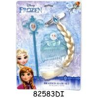 Set pentru par Frozen, 3 piese, Albastru