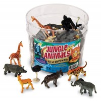 Set pentru sortat Animalute din jungla Learning Resources, 3 - 7 ani