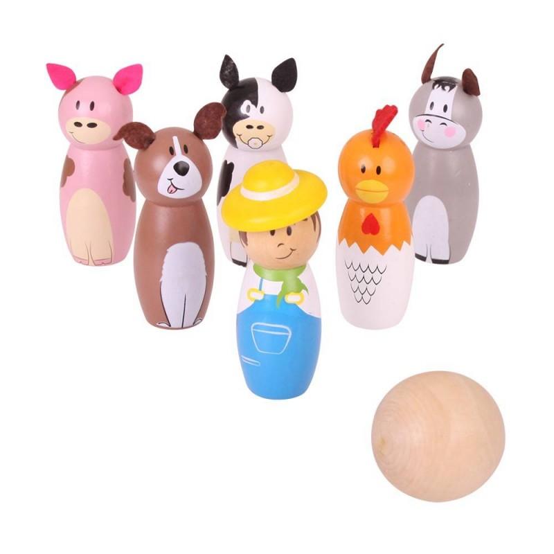 Set popice Animale de la ferma, 2 ani+ 2021 shopu.ro