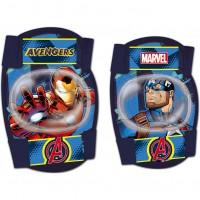 Set protectie Cotiere Genunchiere Avengers Seven, 3 - 8 ani, Multicolor