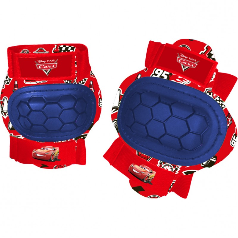 Set protectie Cotiere Genunchiere Cars Disney, marime XS, 3 - 6 ani, Multicolor 2021 shopu.ro