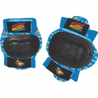 Set protectie Cotiere Genunchiere Pro Mickey Disney, marime XS, 3 - 6 ani, Albastru