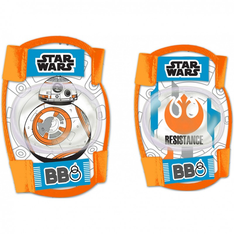 Set protectie Cotiere Genunchiere Star Wars Seven, 3-8 ani