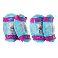 Set protectie genunchiere si cotiere Frozen pentru copii, 3 ani+