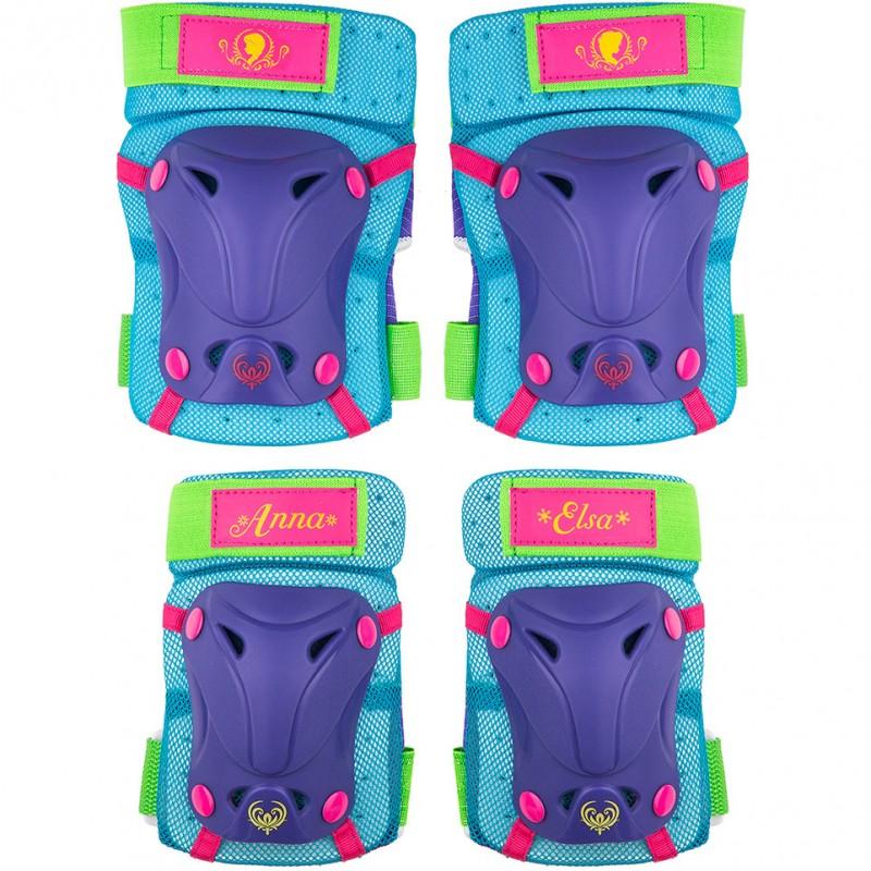 Set protectie Skate Cotiere Genunchiere Frozen Seven, prindere velcro 2021 shopu.ro