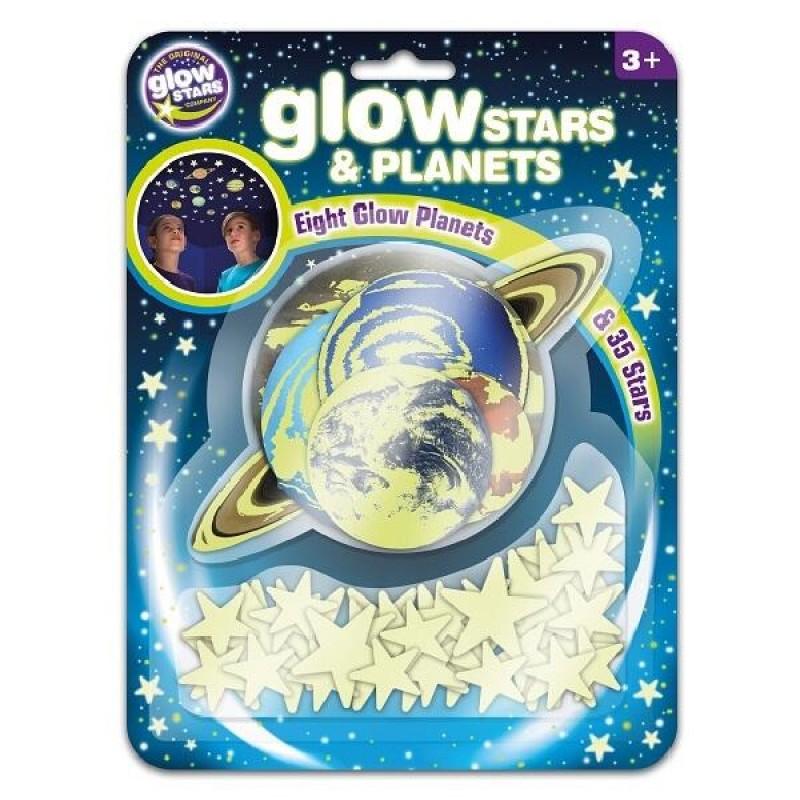 Set planete si stele Brainstorm, reflectorizant, 3 ani+ 2021 shopu.ro