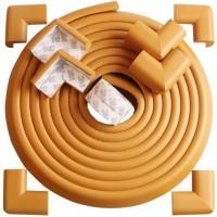 Set protectie multifunctional pentru copii Bambinice, 10 piese, Maro Deschis