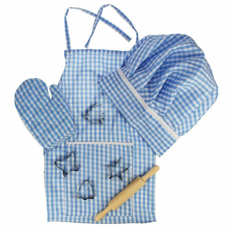 Set sortulet si accesorii, 8 piese, Albastru, 3 ani+ 2021 shopu.ro