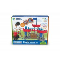 Set STEM La castel Learning Resources, 80 piese, 5 ani+