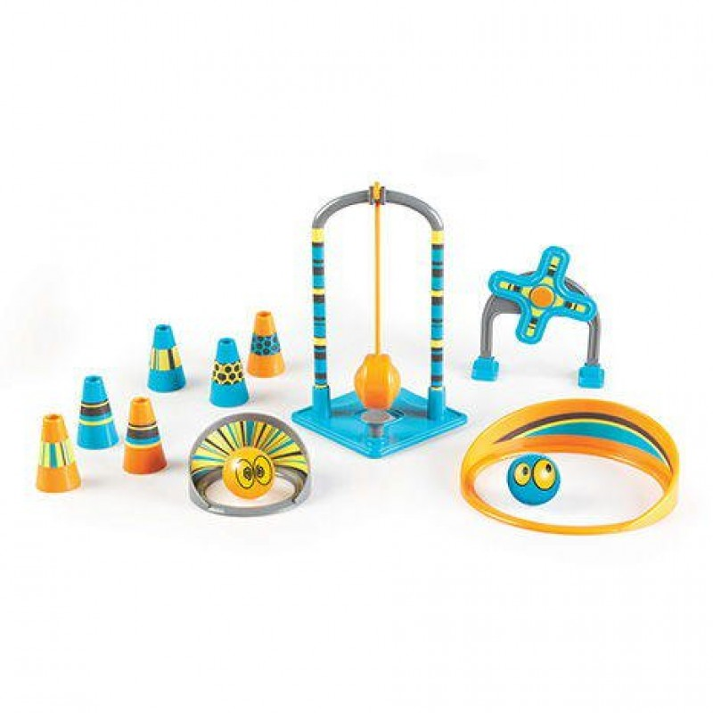Set STEM joc interactiv Pendulonium Learning Resources, pendul, 6 conuri, 2 bile 2021 shopu.ro