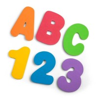 Set stickere pentru baie Tobar, 36 piese, spuma, 3-5 ani, Multicolor