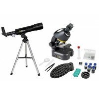 Set telescop 50/360 si microscop 40-640x National Geographic