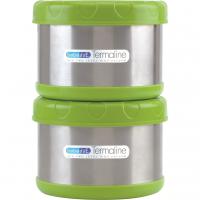 Set termos alimente BebeduE, 2 x 500 ml, geanta de transport