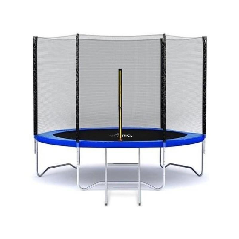 Trambulina cu plasa Malatec, 183 cm, maxim 150 kg, scarita inclusa, 3 ani+ 2021 shopu.ro